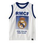 Real Madrid Boys Vest,White,HWGLS20RM1
