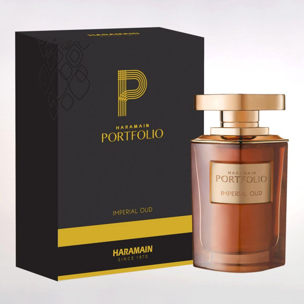 AL Haramain Portfolio Imperial Oud Spray 75ML